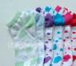 潮爆女船袜~外贸精品~精梳棉多色斑点超短筒女袜系列